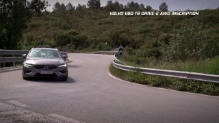 Test kombi Volvo V60 T6 Drive-E AWD