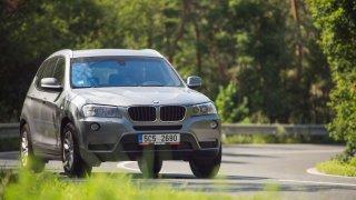 BMW X3 xDrive20d jízda 4