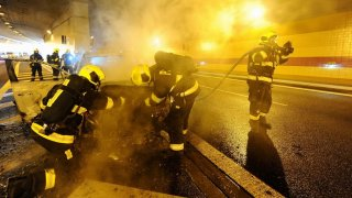 požár v Blance