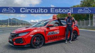 Tiago Monteiro vytvořil v Estorilu s Hondou Civic Type R nový okruhový rekord