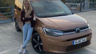 První jízdy s novým Volkswagenem Caddy: Ani osobní verze nezapře užitkový charakter