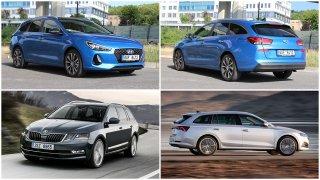 porovnání Hyundai i30 kombi a Škoda Octavia Combi