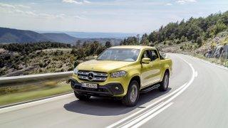 Mercedes třídy X yellow 1