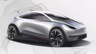 Nová malá Tesla na obzoru? Čínský inzerát hledající designéry možná prozradil víc, než bylo vhodné