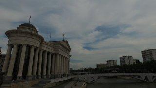 Skopje se po zemětřesení v roce 1963 stavělo znovu