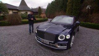 Recenze luxusní limuzíny Bentley Flying Spur First Edition