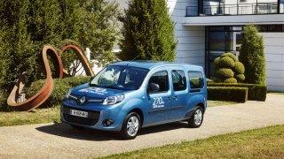 Renault Kangoo Z.E. je plnohodnotná dodávka s elektrickým pohonem