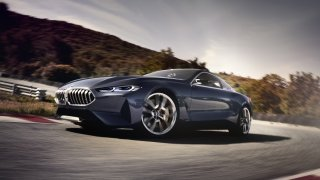 Koncept řady 8 ukazuje budoucí tvář BMW 1
