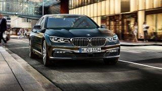 Luxusní BMW řady 7.