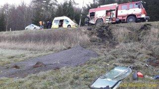 nehoda převrácení Tatry 815