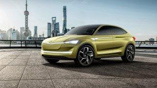 Působivé! Takhle vypadá Škoda Vision E ve skutečnosti