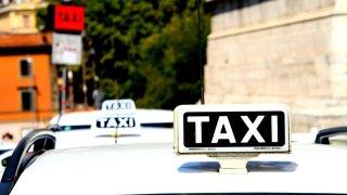 Taxi - ilustrace