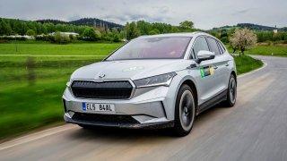 Škoda Enyaq iV na CNER 2021