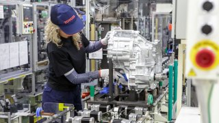 Toyota výroba převodovek