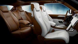 Range Rover SV Coupé interiér