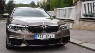 BMW M550d exterier 1
