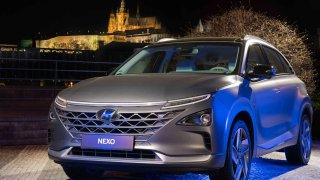 Hyundai NEXO v Praze