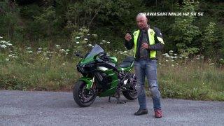 Test motocyklu Kawasaki Ninja H2 SX SE