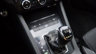Škoda Octavia RS TDI interiér 2