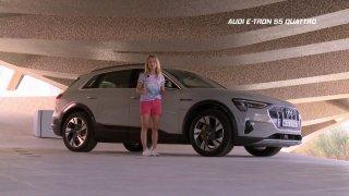 Test SUV elektromobilu Audi e-tron 55 quattro