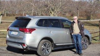 Mitsubishi Outlander - Přece solidní jistota