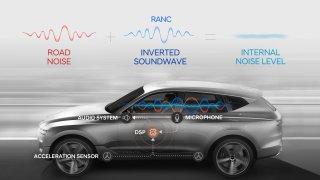 Hyundai vyvíjí technologii proti hluku od podvozku. V elektromobilech bude ticho, slibuje