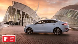 Hyundai i30 Fastback iF Design Award