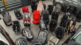 Test dětských sedaček ADAC 2019