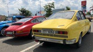 Škoda 110 R a Porsche 911