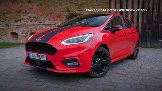 Test Fordu Fiesta ST Line Red&Black