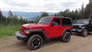 Jeep Wrangler statické 4