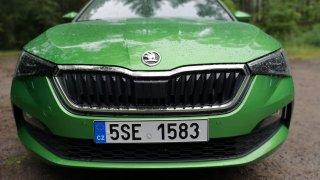 Škoda Scala G-TEC