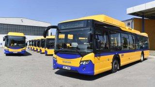 V Břeclavi budou jezdit autobusy na CNG
