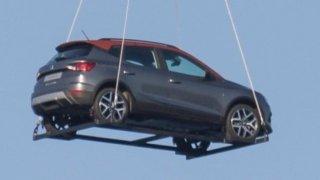 SEAT neuhlídal podobu nového SUV. Arona létala nad