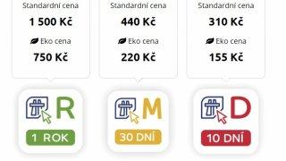 Řidiči chybují při kupování elektronických dálničních známek. Zbytečně je to stojí peníze navíc